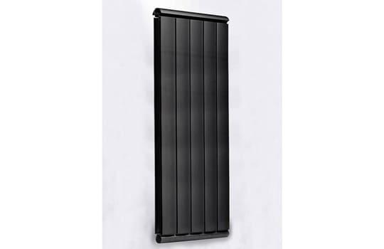 Алюминиевый Дизайн радиатор SILVER S 1500 черный шёлк