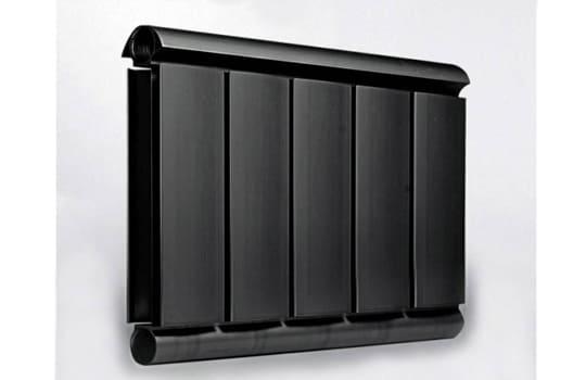 Алюминиевый Дизайн радиатор SILVER S 300 черный шёлк