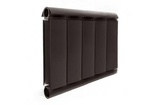 Алюминиевый Дизайн радиатор SILVER S 300 шоколадный муар