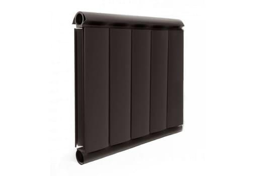 Алюминиевый Дизайн радиатор SILVER S 400 шоколадный муар