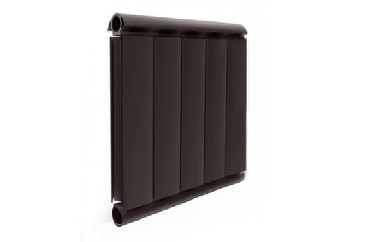 Алюминиевый Дизайн радиатор SILVER S 500 шоколадный муар