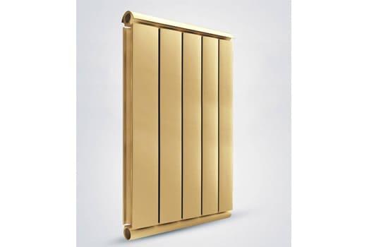 Алюминиевый Дизайн радиатор SILVER S 1000 золото муар