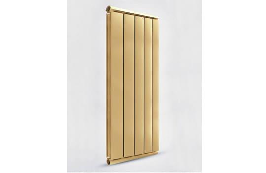 Алюминиевый Дизайн радиатор SILVER S 1500 золото муар