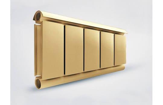 Алюминиевый Дизайн радиатор SILVER S 200 золото муар