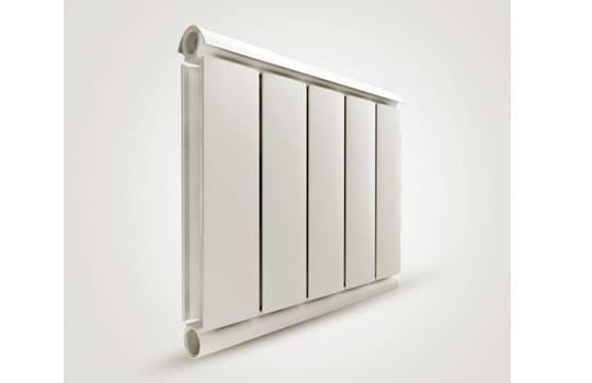 Алюминиевый Дизайн радиатор SILVER S 500 молочный