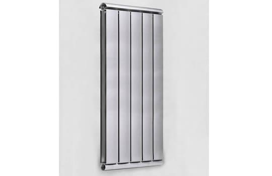 Алюминиевый Дизайн радиатор SILVER S 1000 темное серебро муар
