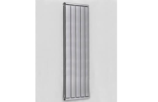 Алюминиевый Дизайн радиатор SILVER S 1800 темное серебро муар