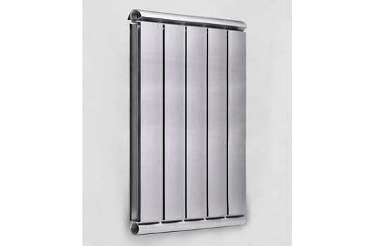 Алюминиевый Дизайн радиатор SILVER S 750 темное серебро муар