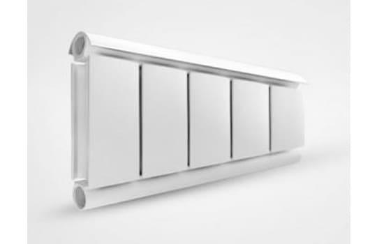Алюминиевый Дизайн радиатор SILVER 200 белый