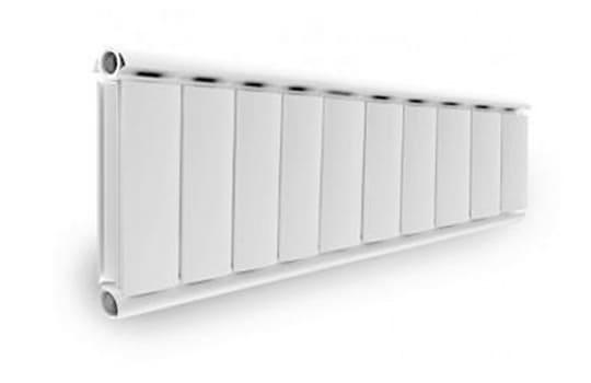 Алюминиевый Дизайн радиатор SILVER 300 белый