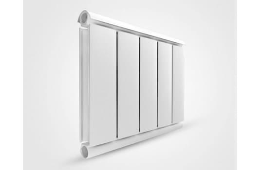 Алюминиевый Дизайн радиатор SILVER 400 белый