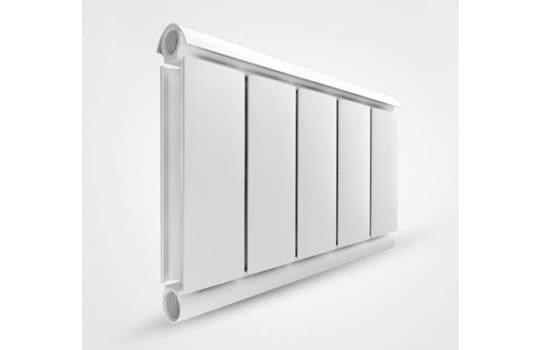Алюминиевый Дизайн радиатор SILVER 500 белый